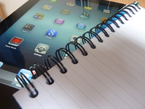 notebook ipad